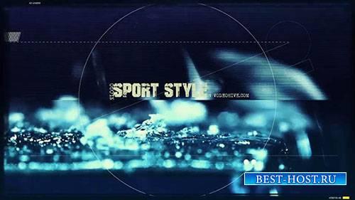 Спортивный Стиль Открывалка - Project for After Effects (Videohive)