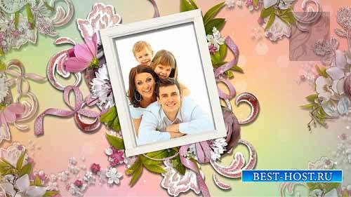 Стили для семейного фото из цветочных рамочек для ProShow Producer (3)