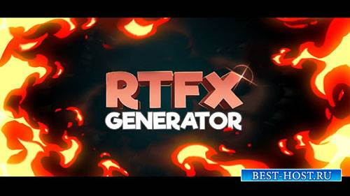 RTFX генератор + 440 Форекс пакет - Project for After Effects (Videohive)