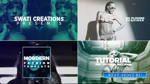 Стильная Мода Промо 19547351 - Project for After Effects (Videohive)