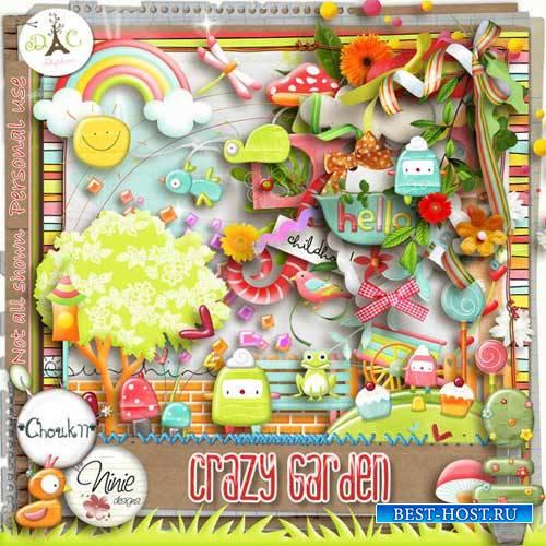 Детский скрап-набор - Crazy Garden