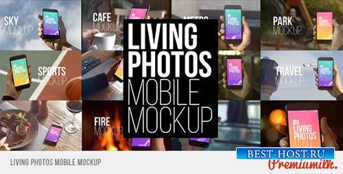 Живые Фотографии Мобильного Макета - Project for After Effects (Videohive)
