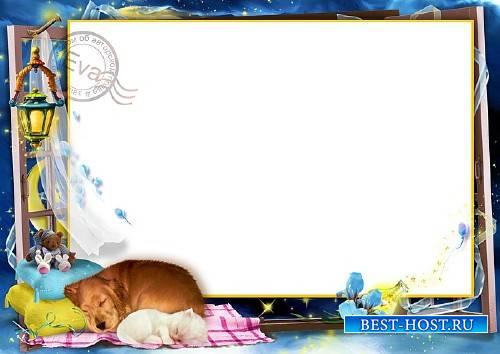 Детская рамочка для фото - Сладкий сон малыша