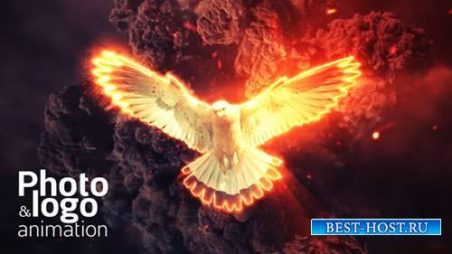 Огненный Взрыв Логотипом И Фото Анимация - Project for After Effects (Video ...