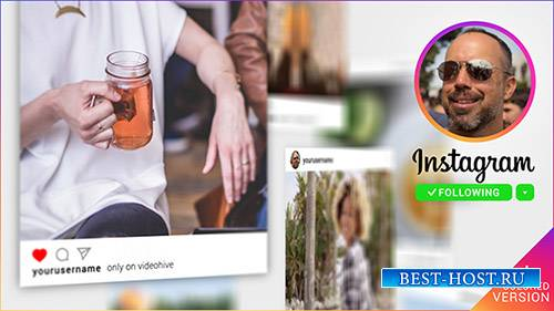 3D-галерея Instagram Promo - Project for After Effects (Videohive)