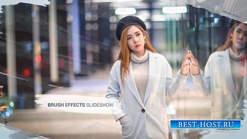 Эффекты кисти - Слайд-шоу фотографий - Шаблоны After Effects