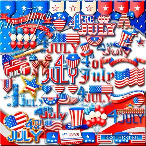 Клипарт к Национальному празднику США
