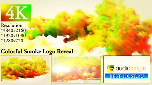 Цветной дымный логотип 20000622 - Project for After Effects (Videohive)