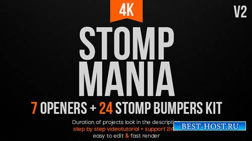 Stomp Мания V2 - Project for After Effects (Videohive)