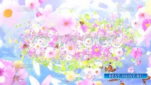 Цветовая палитра цветка V1 - шаблоны After Effects