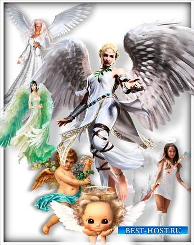 Картинки на прозрачном фоне - Ангелочки