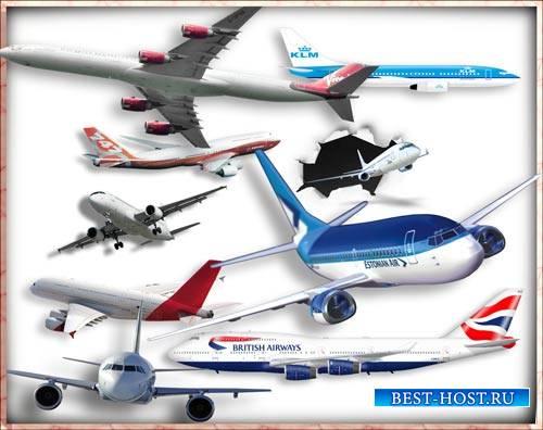 Фотошоп png - Пассажирские и грузовые самолеты