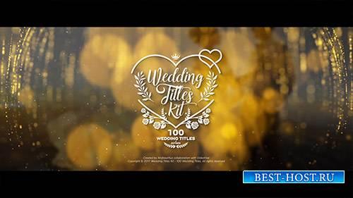 Свадебные Титулы Kit - 100 наименований - Project for After Effects (Videohive)