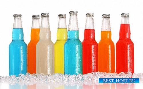 Png для фотошоп - Алкогольные и безалкогольные напитки