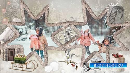 Зимняя погулка - детский  проект для ProShow Producer