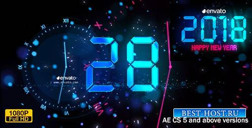 Новый год Обратный отсчет 2018 - Project for After Effects (Videohive)