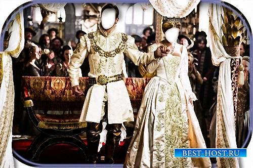 Шаблон - Принц и принцесса