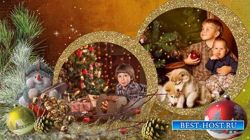 Рождественская сказка - проект и стили для ProShow Producer (1 часть)