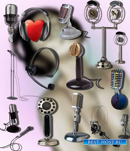 Png для фотошопа - Настольные микрофоны