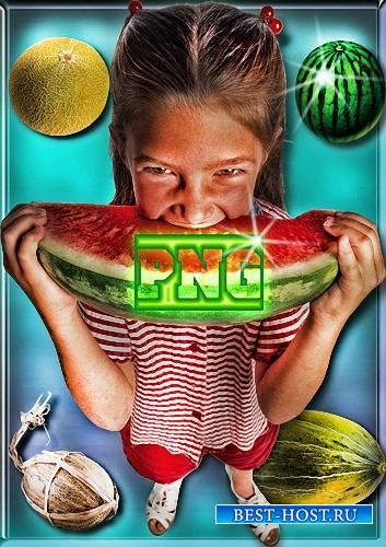 Png формат - Дыни и арбузы