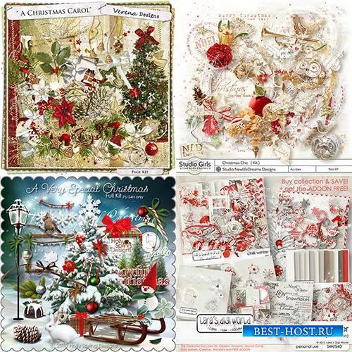 Scrap set - A Very Special Christmas / Christmas Chic / A Christmas Carol