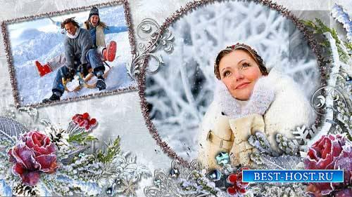 Хрустальные морозы-2  - зимний проект для ProShow Producer