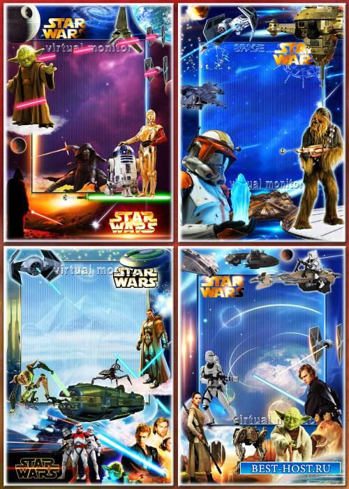Набор рамок для фото - Звёздные войны