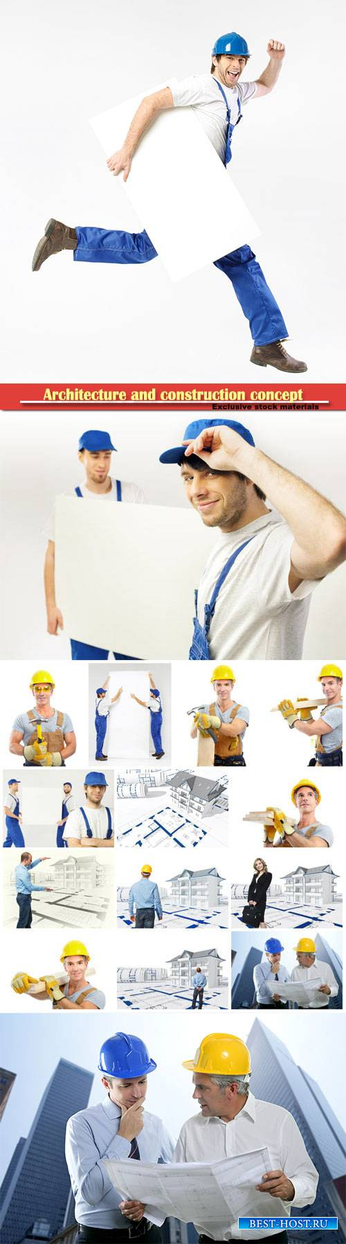 Architecture and construction concept