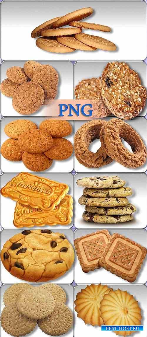 Клипарты png - Песочное печенье