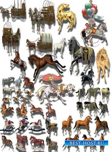 Png на прозрачном фоне - Кони и лошади