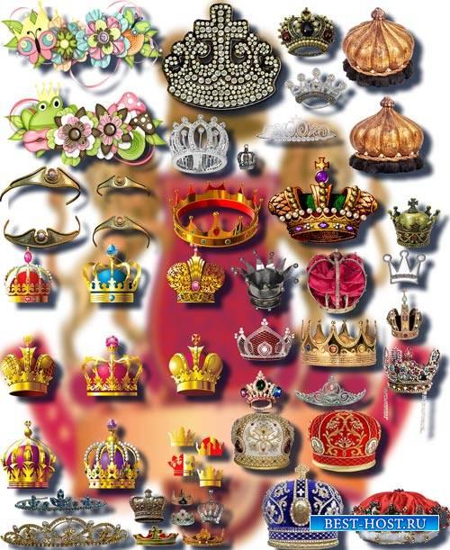 Фотошоп Png клип-арты - Царские и королевские короны