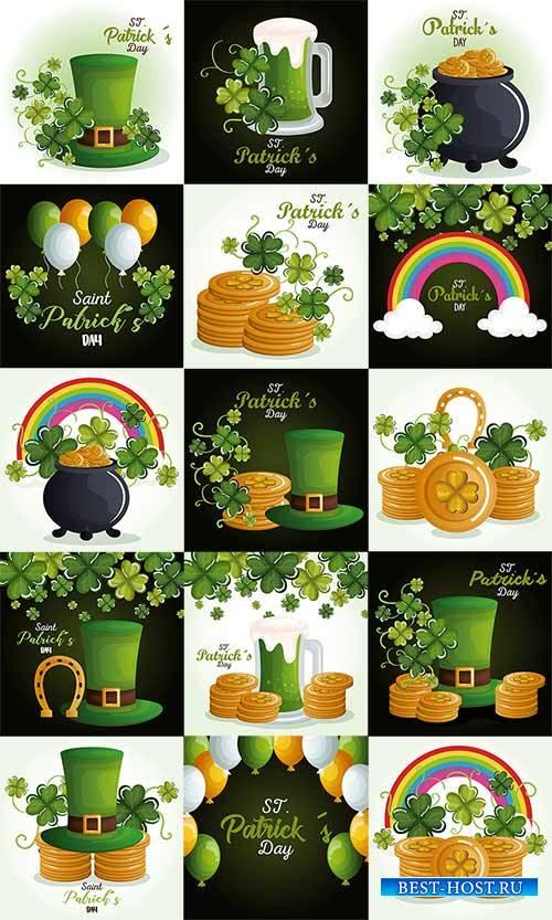 Happy Saint Patricks Day - Vector