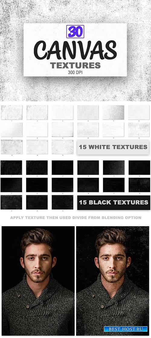 30 Canvas Textures Backgrounds