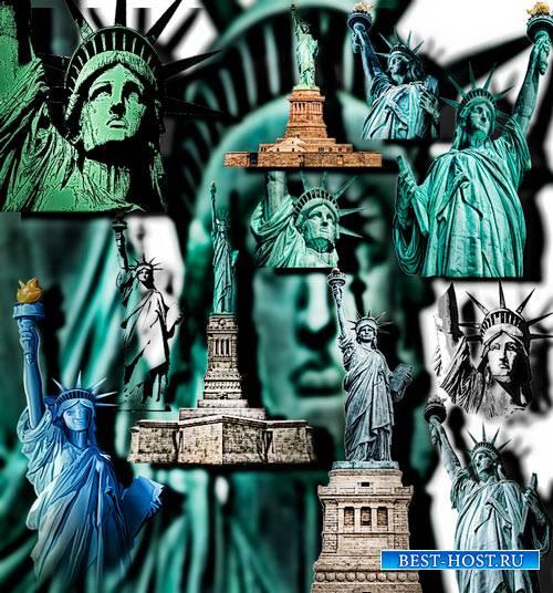 Коллекция Png клипартов - Статуи свободы