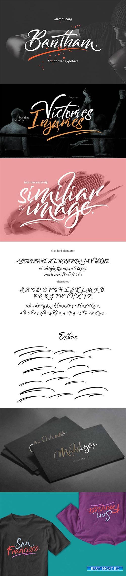 Bantham Brush Typeface