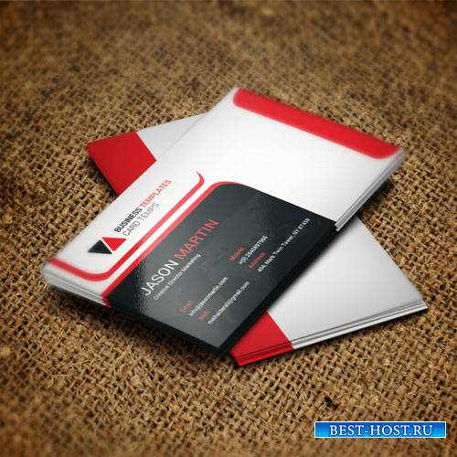 Corporation - business card