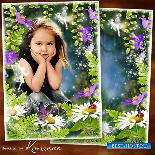 Фоторамка для детских фото - В волшебном сказочном лесу