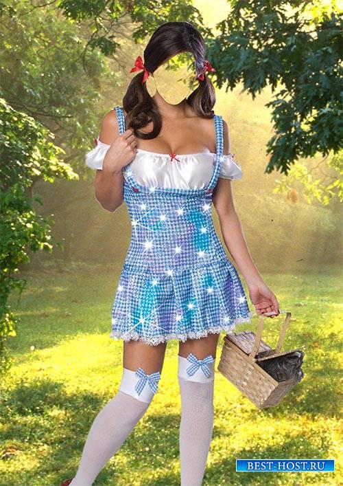 Костюм для фотошопа - Милашка Дороти