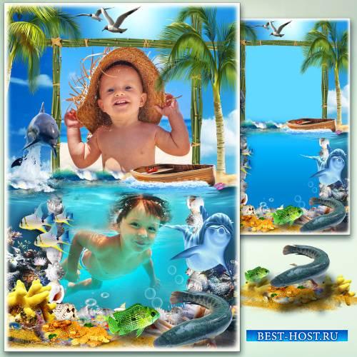 Рамка для фото - Морская стихия
