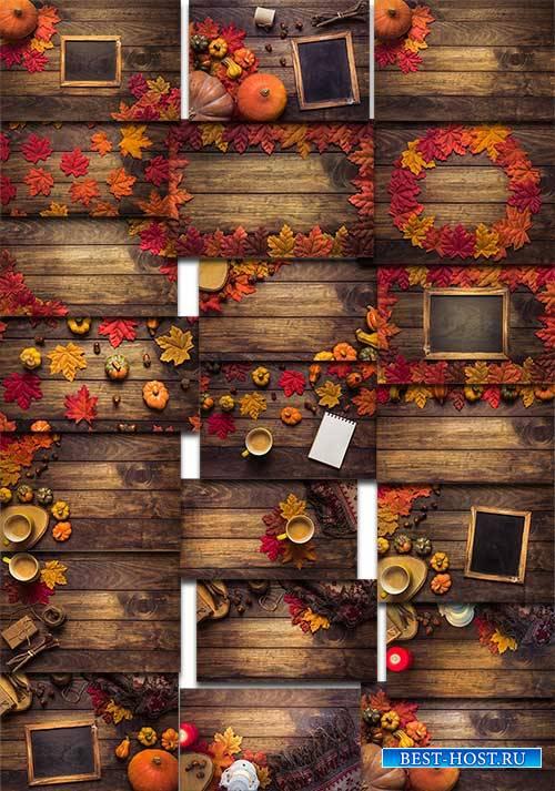 Краски осени - Растровый клипарт / Autumn colors - Raster clipart
