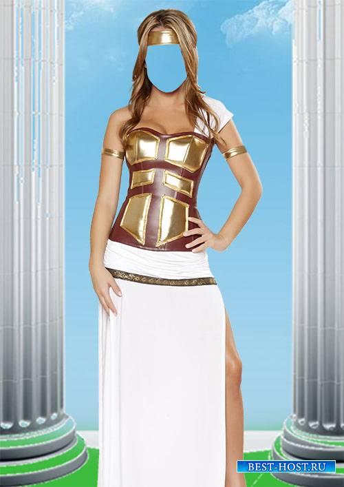 Костюм для фотомонтажа - Греческая богиня