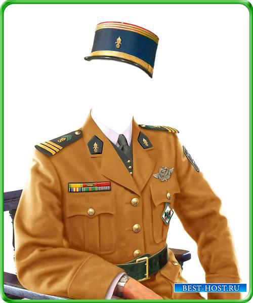 Костюм мужской - Французкий офицер