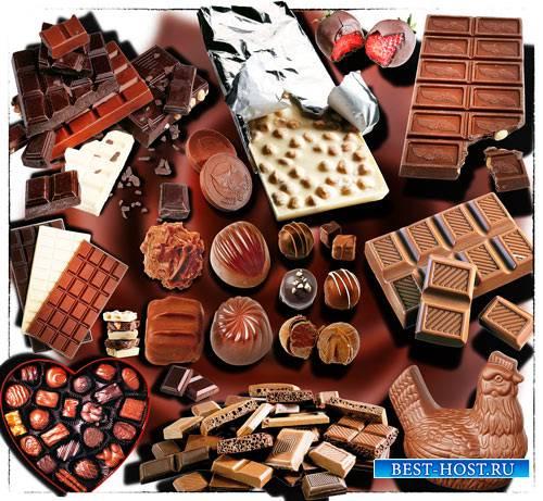 Коллекция Png клипартов - Шоколад