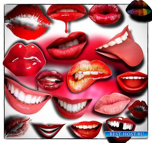 Клип-арты png без фона - Поцелуи и улыбки
