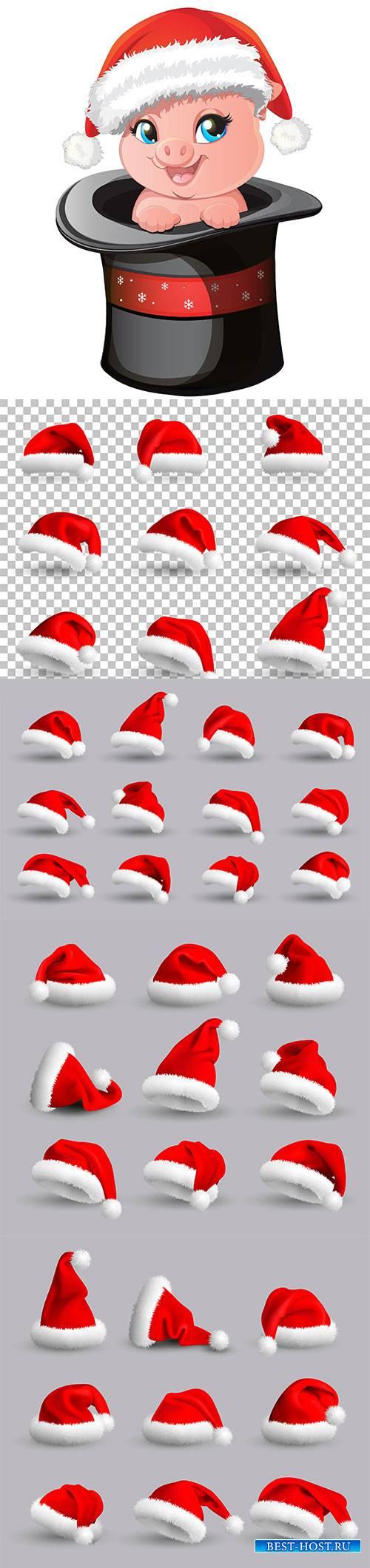 Santa Claus Christmas Hats