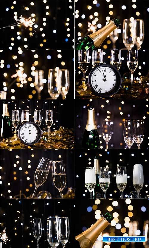 Новогодние фоны - 6 - Растровый клипарт / Christmas backgrounds - 6 - Raste ...