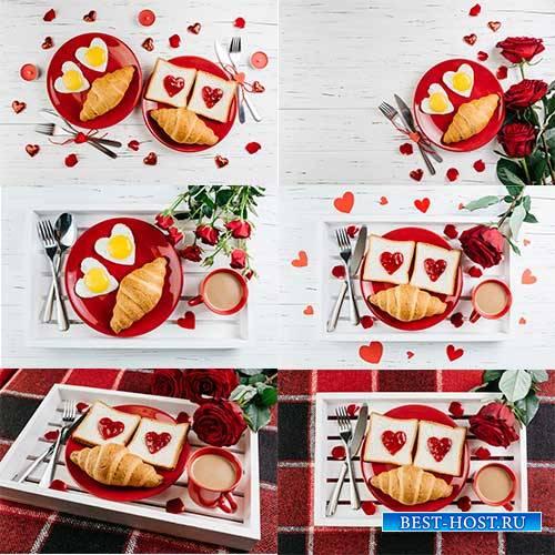 Романтические фоны - 2 - Растровый клипарт / Romantic backgrounds - 2 - Ras ...