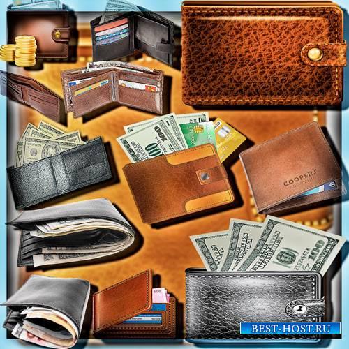 Клипарты для рамок - Портмоне с деньгами