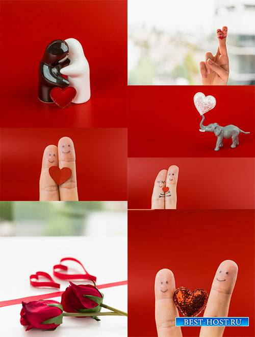 Романтические фоны - 3 - Растровый клипарт / Romantic backgrounds - 3 - Ras ...