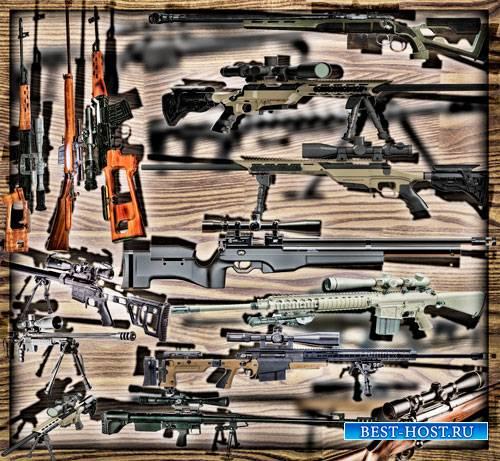 Клипарты для рамок - Снайперские винтовки